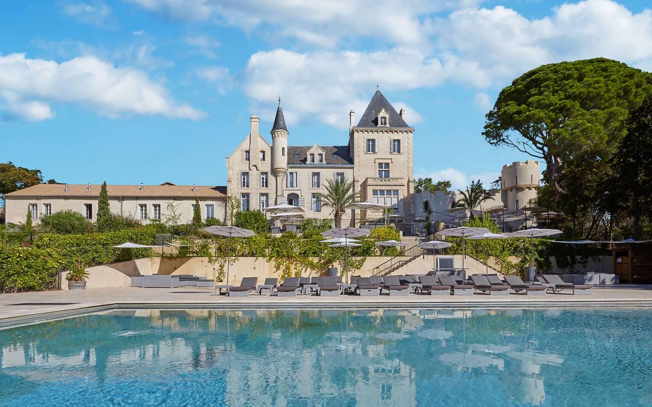 Château Les Carrasses, hébergement insolite Occitanie, Domaine & Demeure