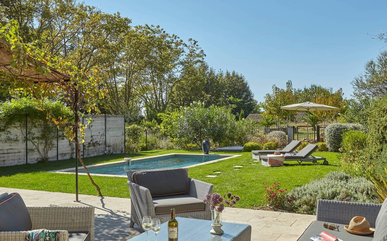 Jardin de luxe, hébergement insolite occitanie, Domaine et Demeure