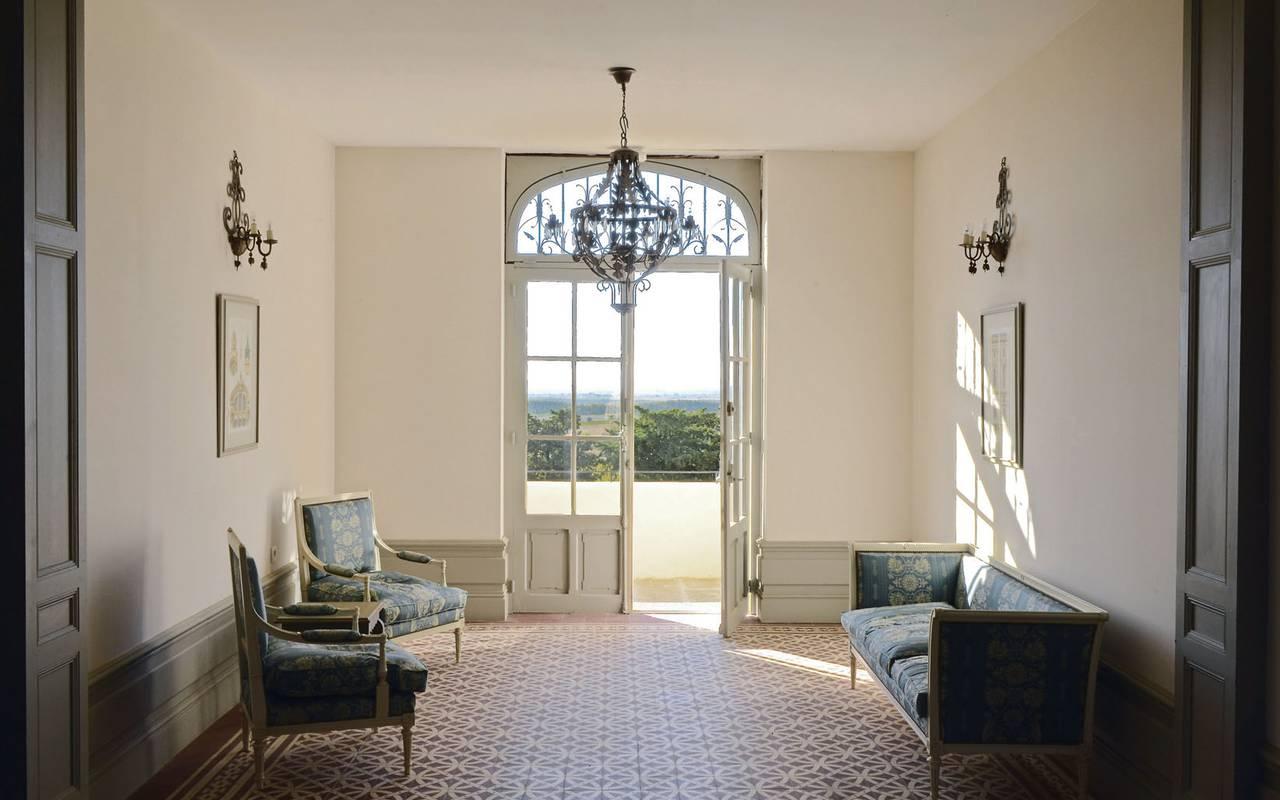 pièce lumineuse location villa languedoc roussillon