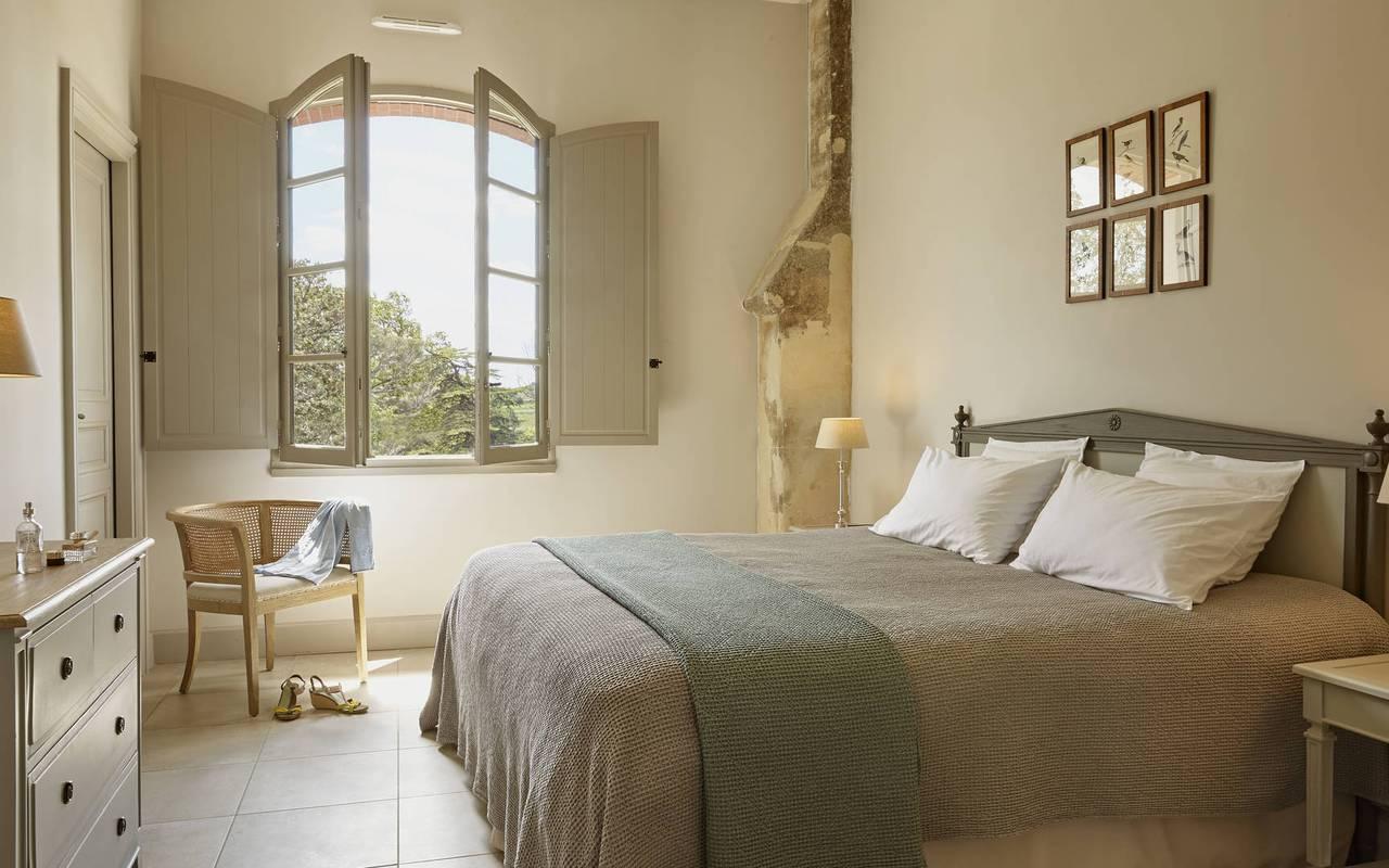 Chambre élégante, location vacances occitanie, Domaine et Demeure